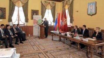 Заседание рабочей группы по координации взаимодействия Москвы и Беларуси проходит в Могилеве
