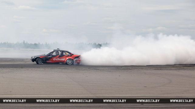 Самая скоростная трасса страны приняла второй этап чемпионата Беларуси по дрифтингу