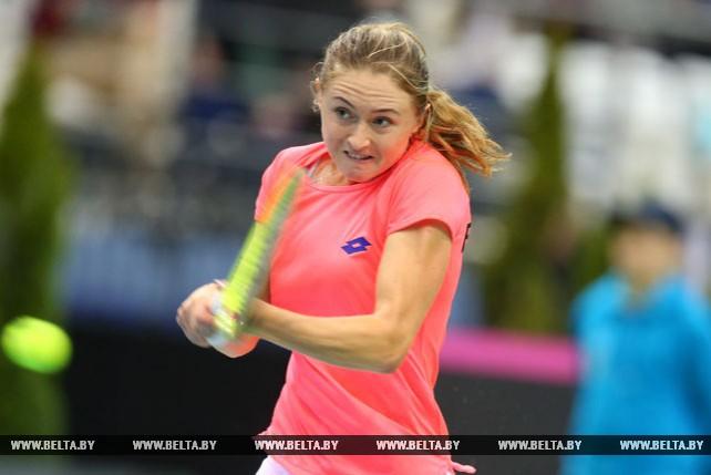 Белорусские теннисистки вышли вперед в матче Кубка Федерации со швейцарками - 2:1