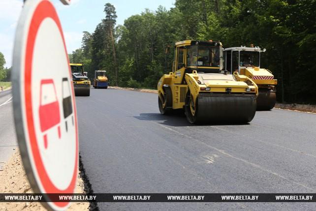 Второй этап реконструкции автодороги М6 открыли на участке в Ивьевском районе
