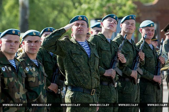 В Брестской крепости чествовали военнослужащих, увольняемых в запас