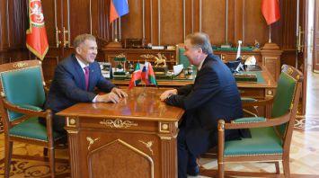 Премьер-министр Беларуси провел переговоры с Президентом Татарстана