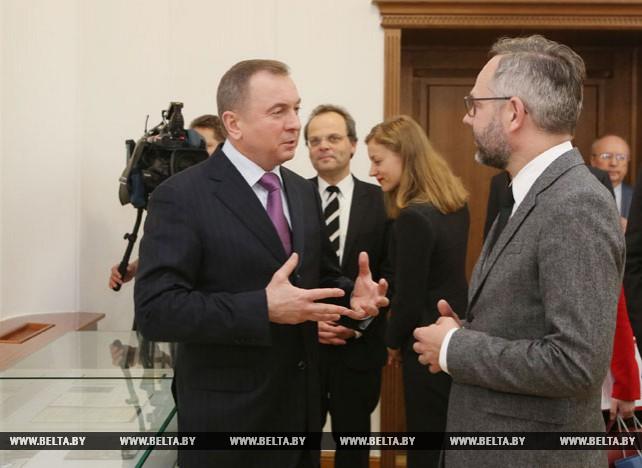 Макей провел переговоры с государственным министром по европейским делам МИД Германии Михаэлем Ротом