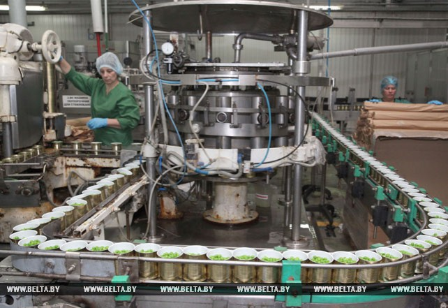 Быховский консервно-овощесушильный завод за январь-май увеличил экспорт консервов более чем в 7 раз