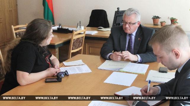 Карпенко провел в Минске прием граждан