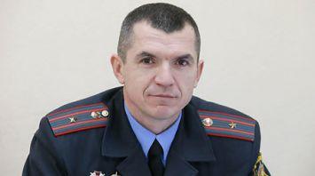 Старший участковый инспектор по делам несовершеннолетних Вячеслав Сайко