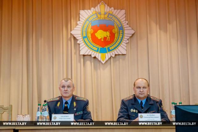 Шуневич представил коллективу нового начальника УВД Брестского облисполкома