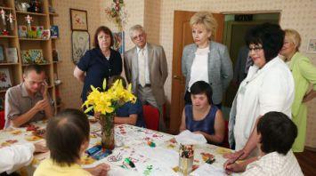 Рабочая поездка Ирины Костевич в Гродненскую область