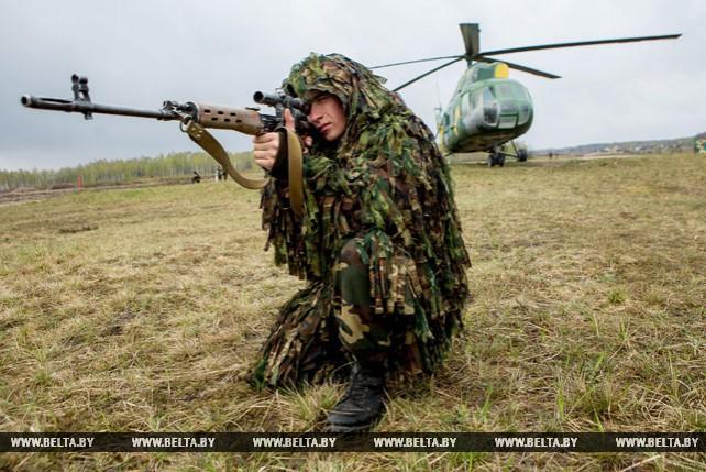 На полигоне Брестский прошел завершающий этап учений белорусских и российских десантников