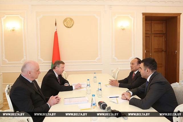 Беларусь заинтересована в новых совместных проектах с Международным союзом электросвязи - Кобяков