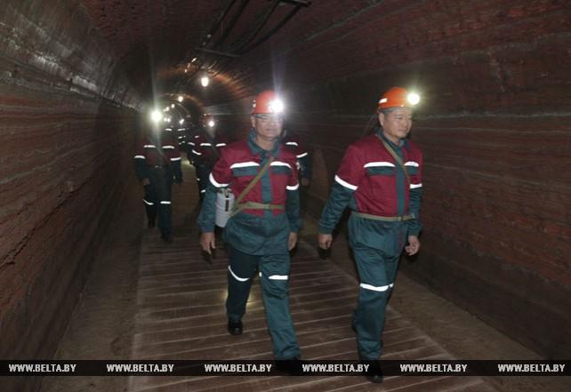 "Таиландские парламентарии побывали в шахте ""Беларуськалия"""