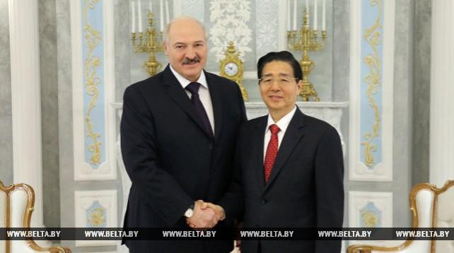 Президент Беларуси встретился с членом Госсовета КНР, министром общественной безопасности Китая