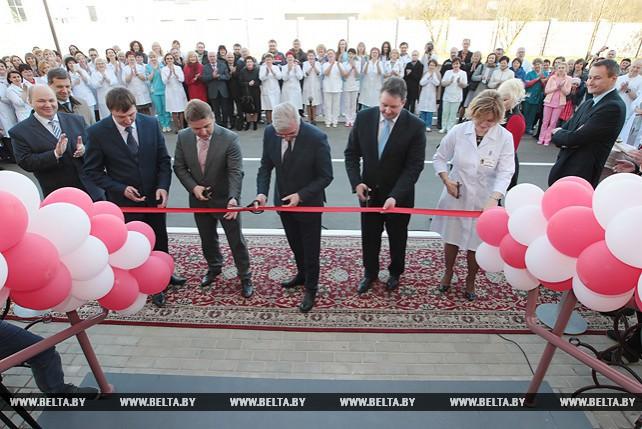 Лечебный корпус с модульным блоком для МРТ открылся в детской инфекционной больнице Минска