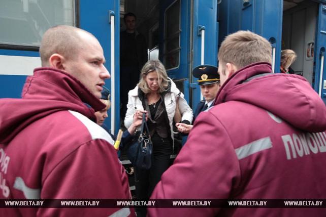 Поезд Москва-Брест прибыл в Минск