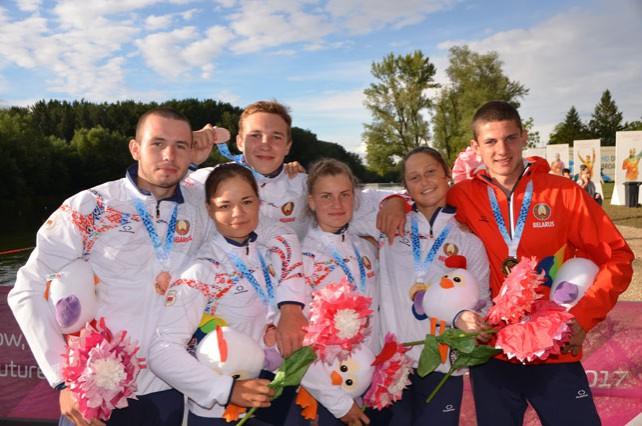 Белорусские спортсмены завоевали пять медалей в третий день Европейского юношеского фестиваля