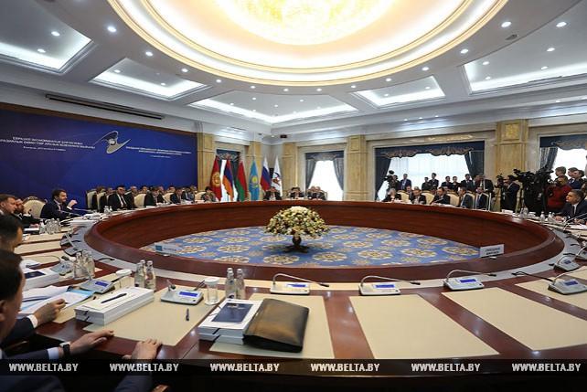 Заседание Евразийского межправсовета в расширенном составе