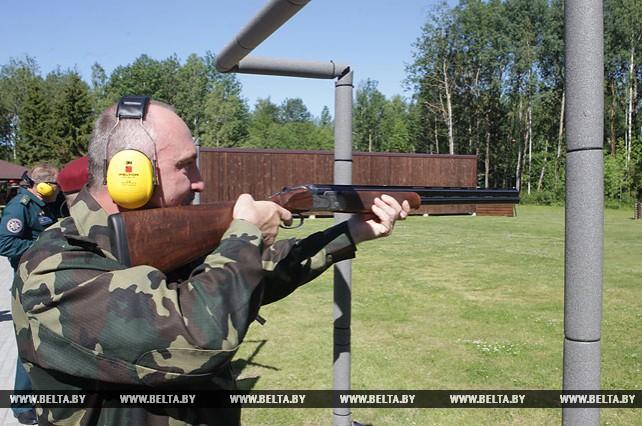 Открытый чемпионат МВД по стендовой стрельбе проходит в Минском районе