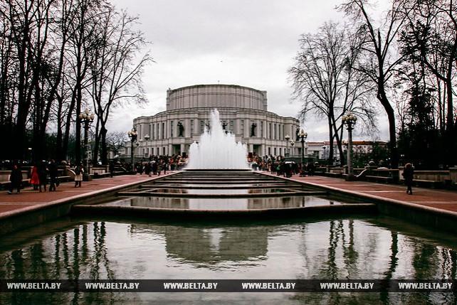 Сезон фонтанов открылся в Минске