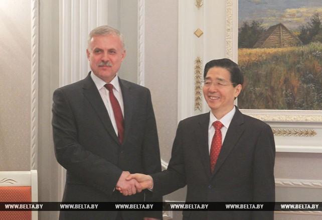 Зась обсудил с Го Шэнкунем сотрудничество в сферах борьбы с терроризмом и экстремизмом