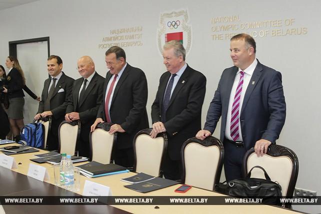 Комиссия ЕОК готова передать Беларуси весь опыт по проведению Евроигр