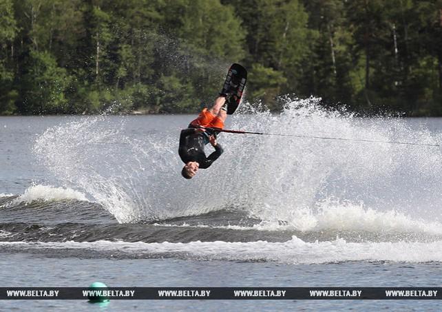 Международный турнир по воднолыжному спорту прошел в Новополоцке