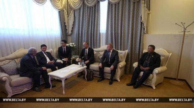 Парламентская делегация Таиланда прибыла в Беларусь