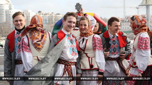 Масленичные гуляния прошли в Минске