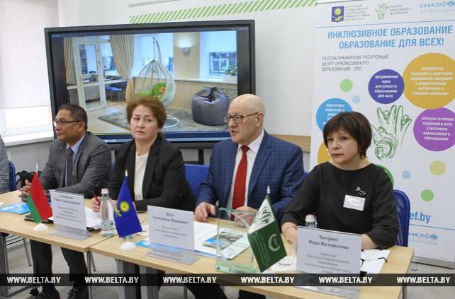 Республиканский ресурсный центр инклюзивного образования открылся в Минске