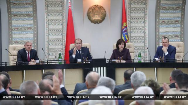 Областной Совет депутатов утвердил Исаченко в должности председателя Миноблисполкома