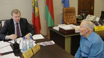 Доманевский провел выездной прием граждан в Климовичском районе