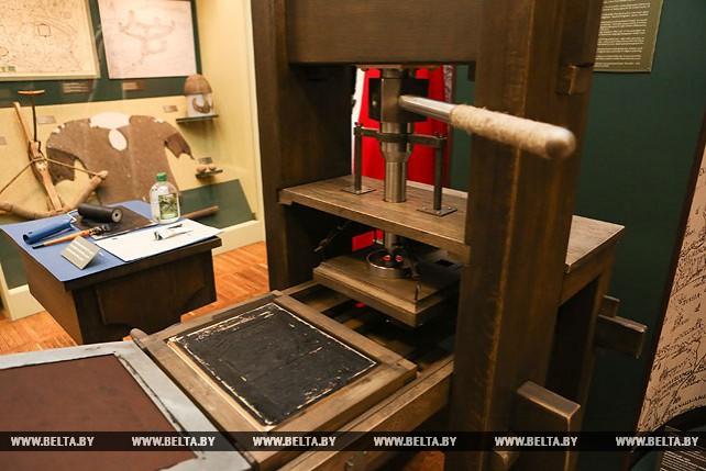 Копия печатного станка Гутенберга пополнила экспозицию Национального исторического музея