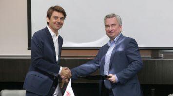 Директор ПВТ Янчевский и гендиректор Uber B.V. Пьер Гор-Коти договорились о сотрудничестве в сфере беспилотных автомобилей