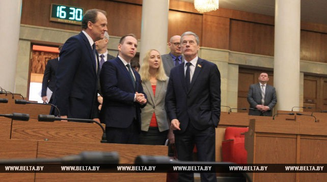 Встреча белорусских и польских парламентариев состоялась в Минске