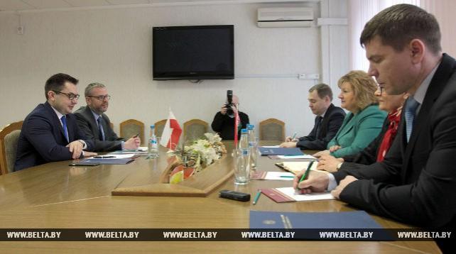 Ананич встретилась с послом Польши