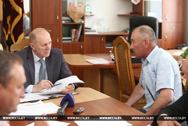 Кравцов провел прием граждан