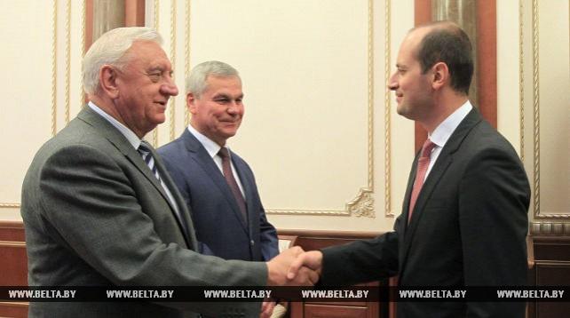 Андрейченко и Мясникович встретились с вице-премьер-министром - министром иностранных дел Грузии
