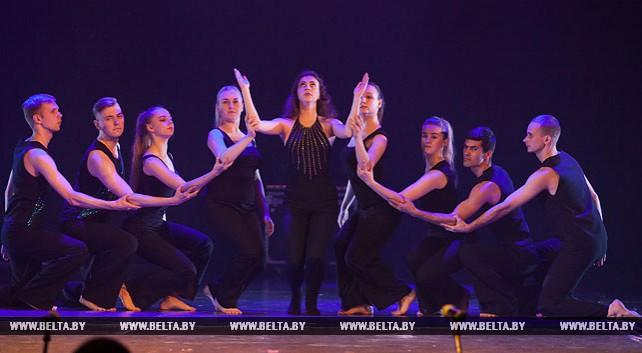 Гала-концерт международного межвузовского фестиваля современного танца прошел в Витебске