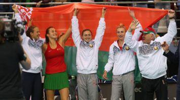 Арина Соболенко обеспечила белорускам победу над швейцарками и выход в финал Кубка Федерации