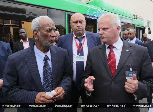 Председатель Национальной ассамблеи Судана посетил МАЗ