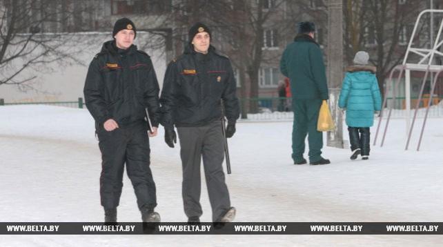 С начала 2017 года участковые Ленинского РУВД Минска раскрыли 12 преступлений