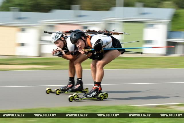 Белорусские биатлонисты завершают подготовку к летнему чемпионату мира