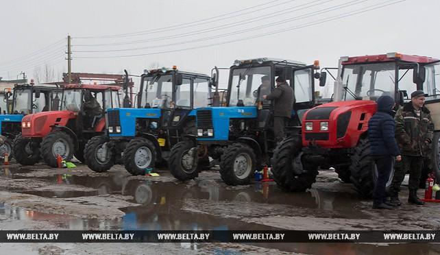 Во всех районах Брестской области начался техосмотр сельхозтехники