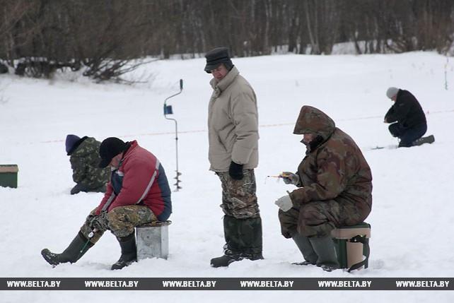 В Гомеле прошли областные соревнования по спортивному лову рыбы на мормышку