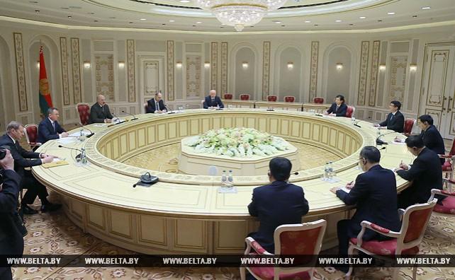 Лукашенко встретился с секретарем Комитета Коммунистической партии Китая провинции Хунань Ду Цзяхао
