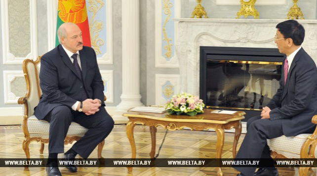 Александр Лукашенко встретился с генеральным прокурором Верховной народной прокуратуры Китая