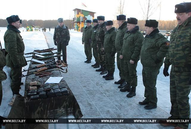 Представители облисполкомов проверили свои силы в огневой подготовке