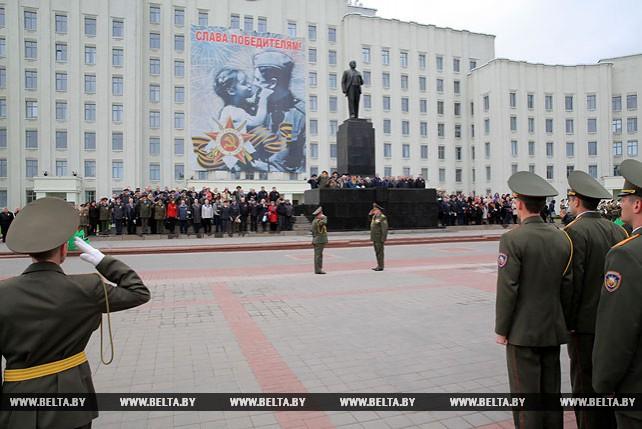Празднование Дня Победы проходит в Могилеве