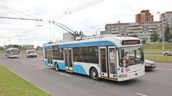 Новый троллейбусный маршрут открыт в Витебске