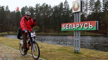 Речной пункт пропуска Лесная - Рудавка открыли в тестовом режиме для велосипедистов и пешеходов