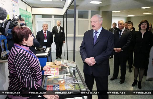 Лукашенко посетил Республиканский научно-практический центр трансплантации органов и тканей 9-й городской клинической больницы Минска